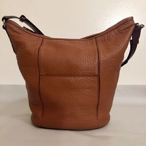 Cole Haan Tan Leather Bucket Purse